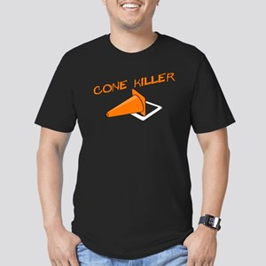 Cone Killer Men's Fitted T-Shirt (dark)