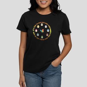 Kick Ass Linux Women's Dark T-Shirt