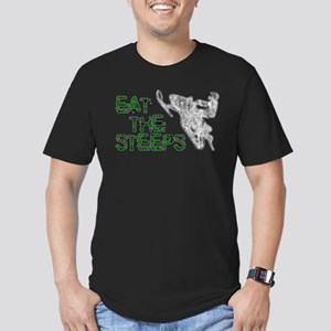 Eat The Steeps Men's Fitted T-Shirt (dark)