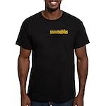 Talking Snowmobiles Men's Fitted T-Shirt (dark)