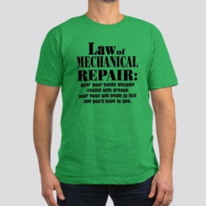 Law of Mechanical Repa Men's Fitted T-Shirt (dark)