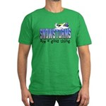 Snowstorms - Good Thing Men's Fitted T-Shirt (dark