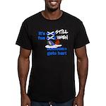It's Still Fun Men's Fitted T-Shirt (dark)