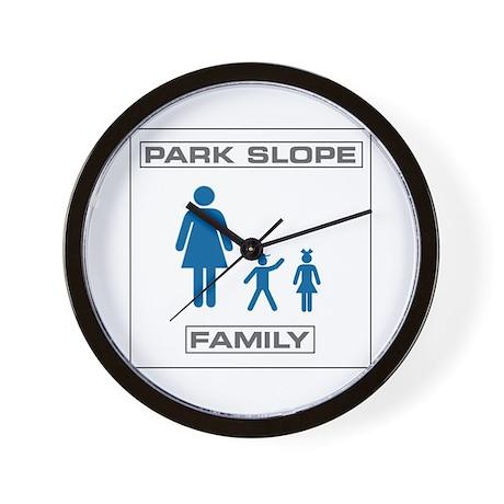 Park Slope Single Mom Wall Clock