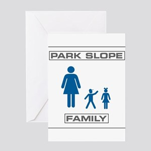 Park Slope Single Mom Greeting Card
