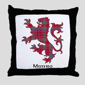 Lion-Munro Throw Pillow