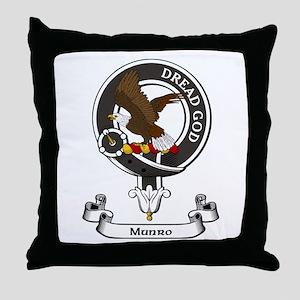Badge-Munro Throw Pillow