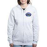 Brea Police Women's Zip Hoodie