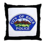 Brea Police Throw Pillow