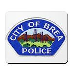 Brea Police Mousepad