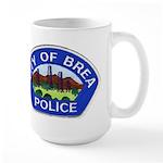 Brea Police Large Mug