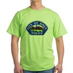 Brea Police Green T-Shirt