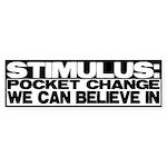 Stimulus Bumper Sticker (50 pk)