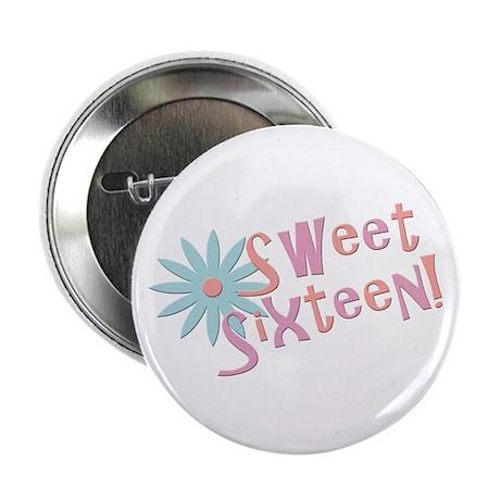 """Sweet Sixteen 2.25"""" Button"""
