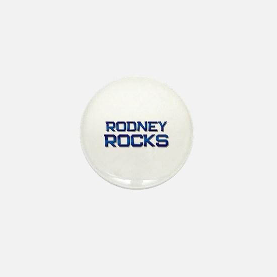 rodney rocks Mini Button