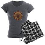 Native Spirit Art Women's Charcoal Pajamas