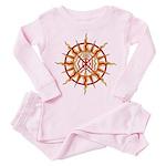 Native Spirit Art Toddler Pink Pajamas