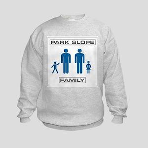Park Slope Two Daddies Kids Sweatshirt
