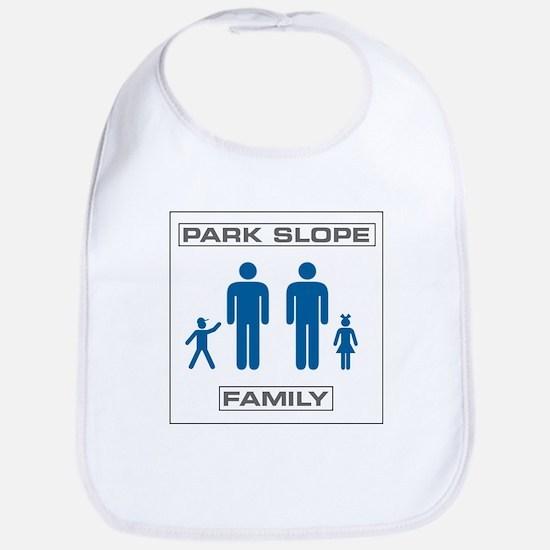 Park Slope Two Daddies Bib