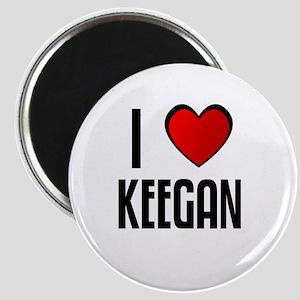 I LOVE KEEGAN Magnet