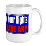 Know Your Rights Large Mug