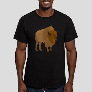 Buffalo Men's Fitted T-Shirt (dark)
