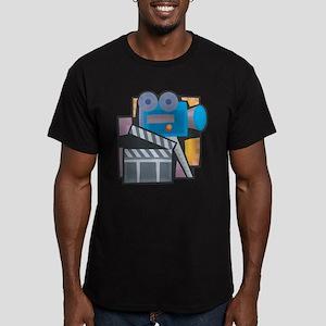 Film Making Men's Fitted T-Shirt (dark)