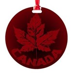 Cool Canada Souvenir Round Ornament