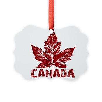 Cool Canada Souvenir Picture Ornament