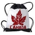 Cool Canada Souvenir Drawstring Bag