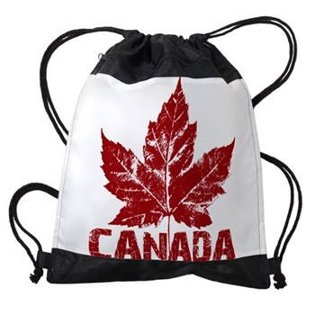 Cool Canada Souvenir Drawstring Bag