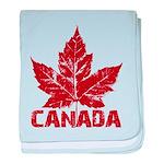 Cool Canada Souvenir baby blanket