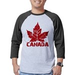 Cool Canada Souvenir Mens Baseball Tee