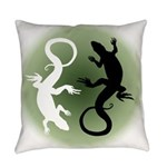 Lizard Art Everyday Pillow