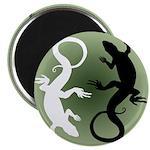 Lizard Art Magnets