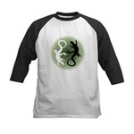 Lizard Art Baseball Jersey