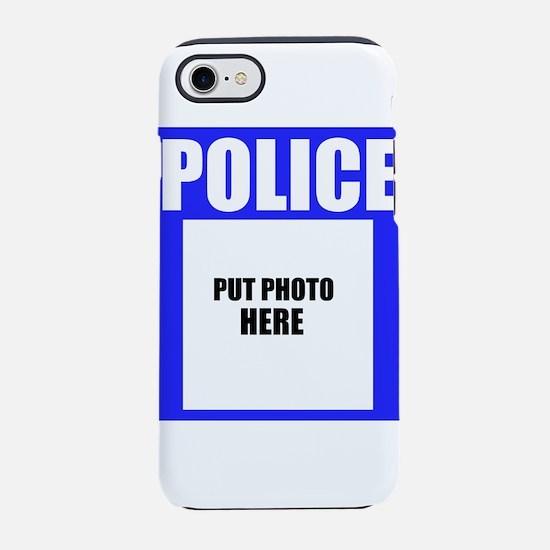 Police iPhone 7 Tough Case