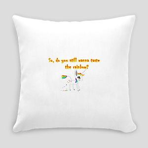 Taste the Rainbow Everyday Pillow
