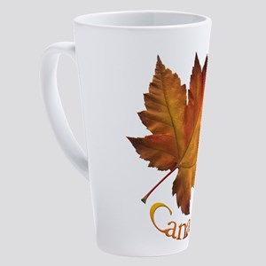 Canada Maple Leaf Souvenir 17 oz Latte Mug