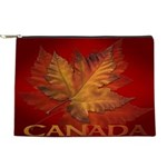 Canada Maple Leaf Souvenir Makeup Bag