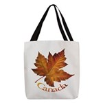 Canada Maple Leaf Souvenir Polyester Tote Bag