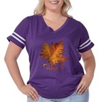 Canada Maple Leaf Souvenir Women's Plus Size Footb