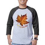 Canada Maple Leaf Souvenir Mens Baseball Tee