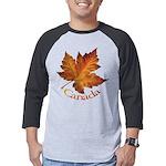 Canada Maple Leaf Souvenir Mens Baseball Tee