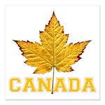 Canada Varsity Team Square Car Magnet 3