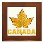 Canada Varsity Team Framed Tile