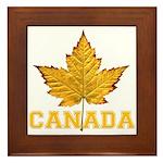 Canada Varsity Team Framed Tile