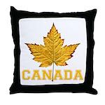Canada Varsity Team Throw Pillow