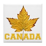 Canada Varsity Team Tile Coaster