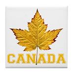 Canada Varsity Team Tile Coaster